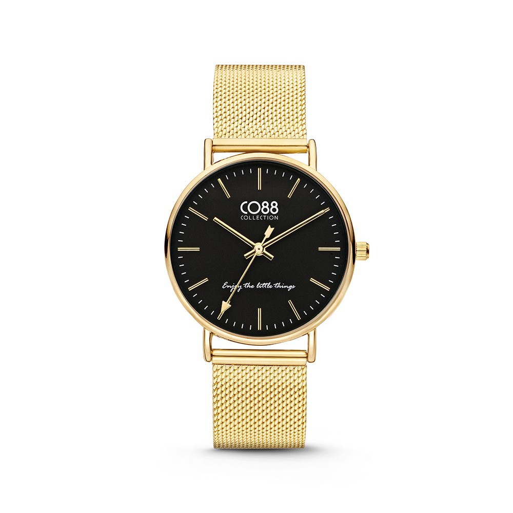 CO88 Collection 8CW-10007 - Horloge - Mesh - goudkleurig - 36 mm