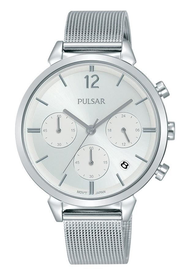 Pulsar dameshorloge Quartz Chronograaf 36 mm PT3943X1