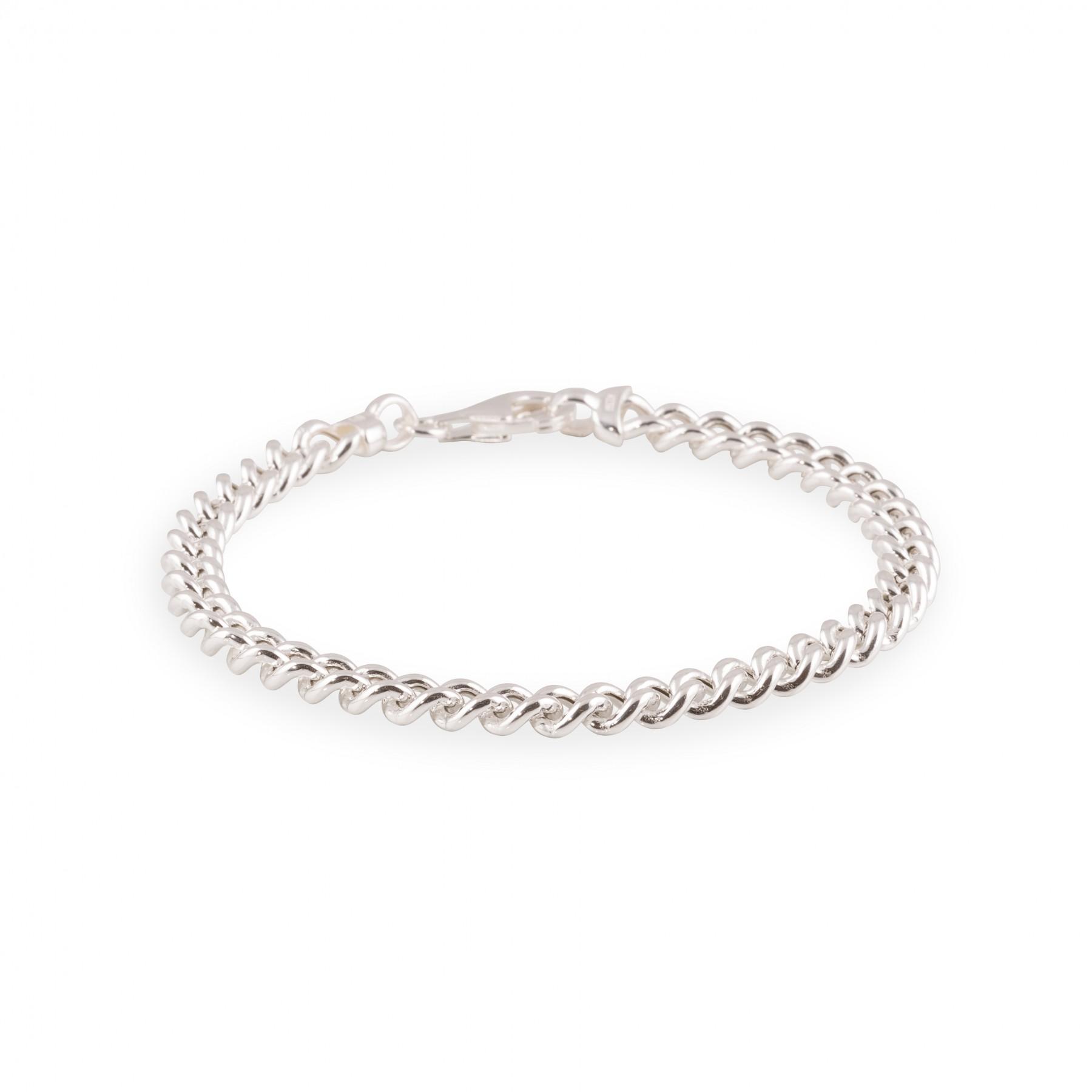Zilveren schakelarmband best basics 19 cm - gourmetschakel - 5.5 mm 104.1250.19