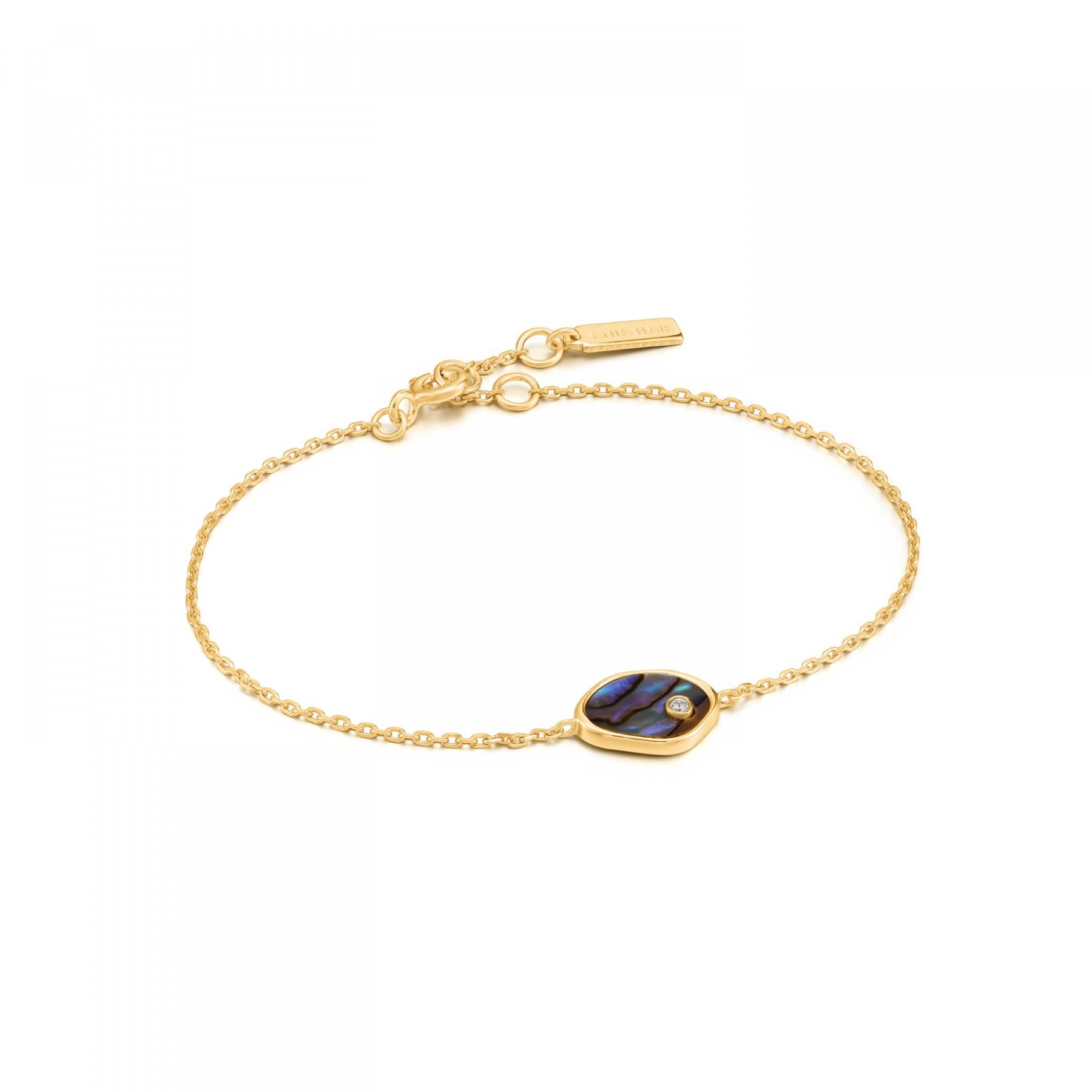 Ania Haie Turning Tides AH B027.01G Dames Armband 18,5 cm Dames 1