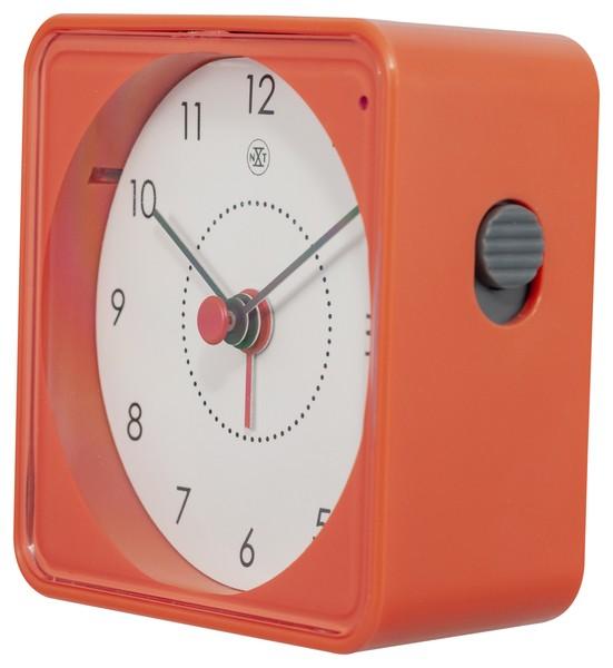 Alarmklok nXt Nathan 7.3 x 7.3 x 3.3 cm oranje