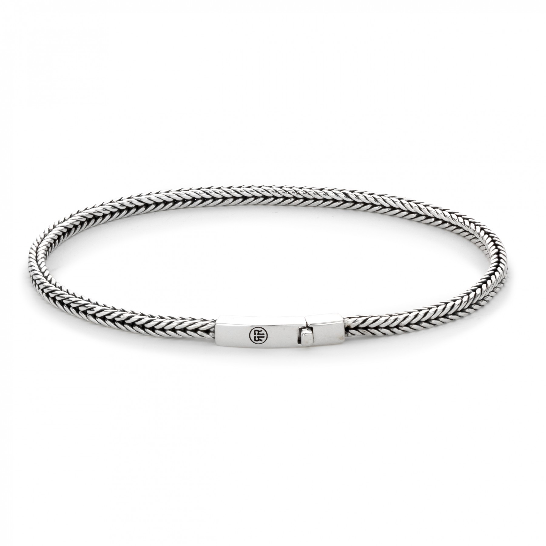 Rebel and Rose RR-BR015-S-M Armband todo - small link 3mm M - 13.50 gr. 925 3mm 19.5