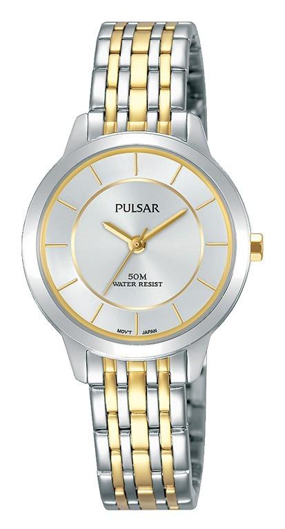 Pulsar Dameshorloge Goud- en zilverkleurig PH8369X1