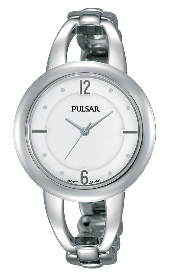 Pulsar Dameshorloge Witte wijzerplaat PH8203X1