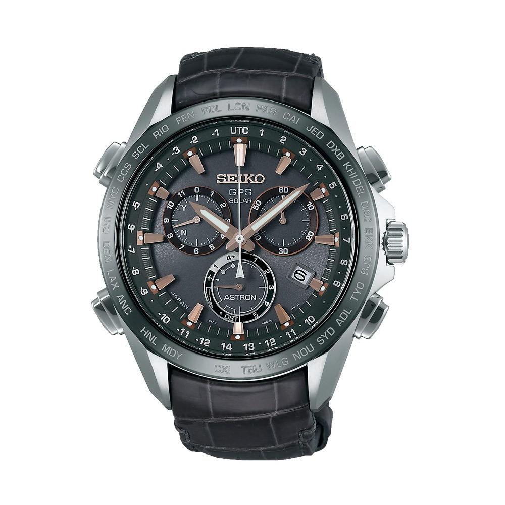 Seiko SSE023J1 Astron GPS Solar Chronograaf horloge