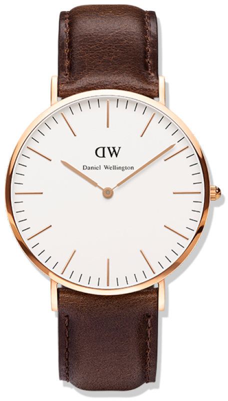 Daniel Wellington Horloge Classic Bristol rose 40 mm DW00100009