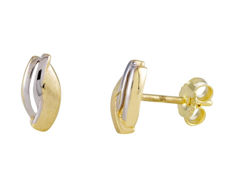 Glow Gouden Oorbellen bicolor 206.0392.00