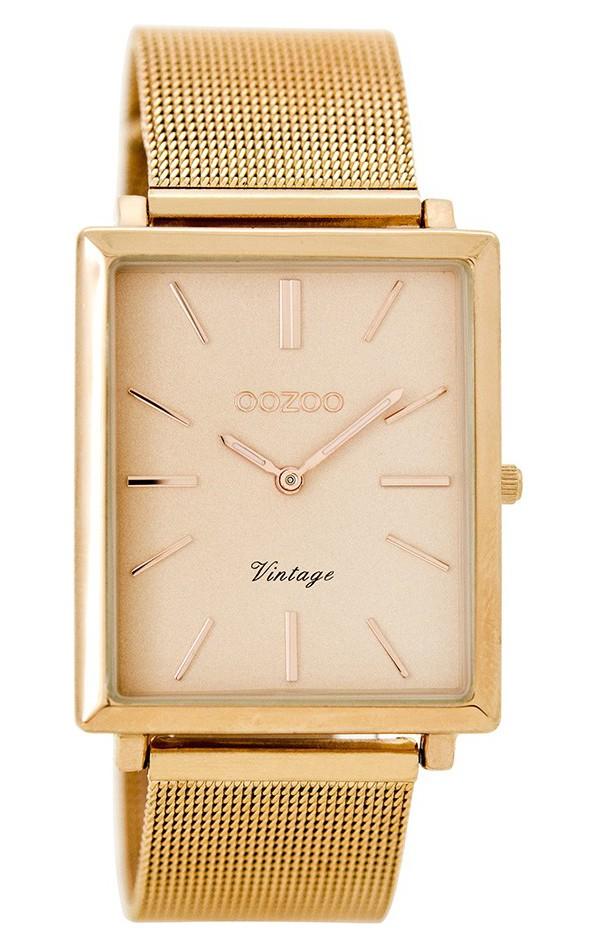 OOZOO Horloge Vintage rosékleurig 31 x 37 mm C8184