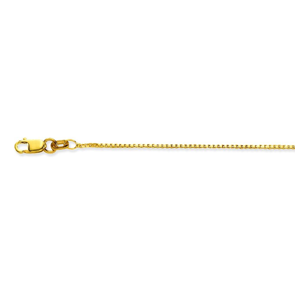 Glow 201.1145.31 Gouden Ketting Venetiaans 45 cm 0.9 mm breed -1