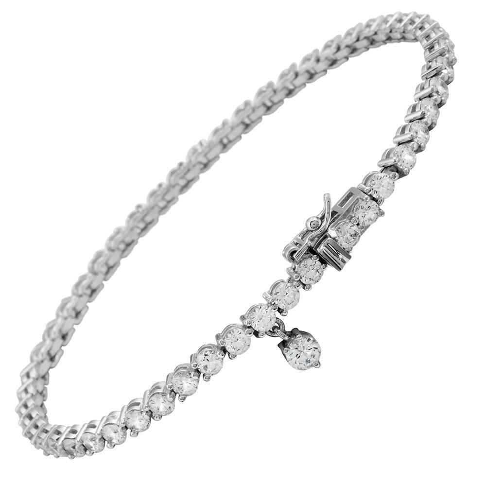 Diamonfire Zilveren Tennisarmband 19 Cm - Eternity Alliance 804.0061.19