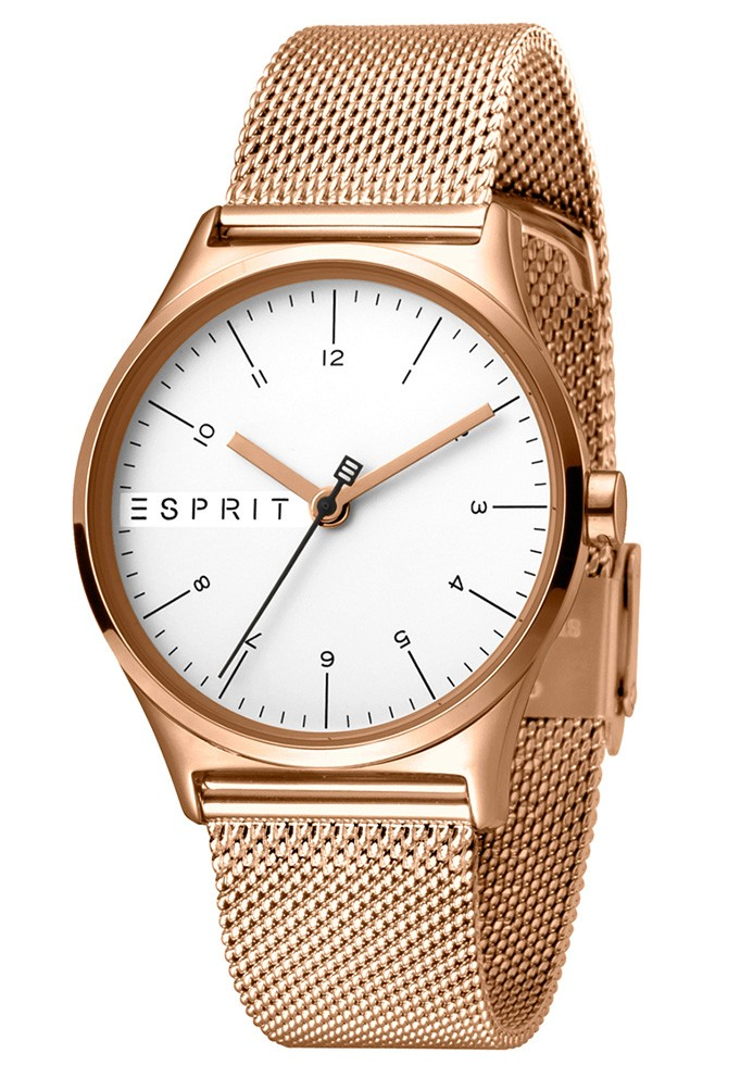 Esprit Horloge Essential staal 34 mm rosékleurig ES1L034M0085-1