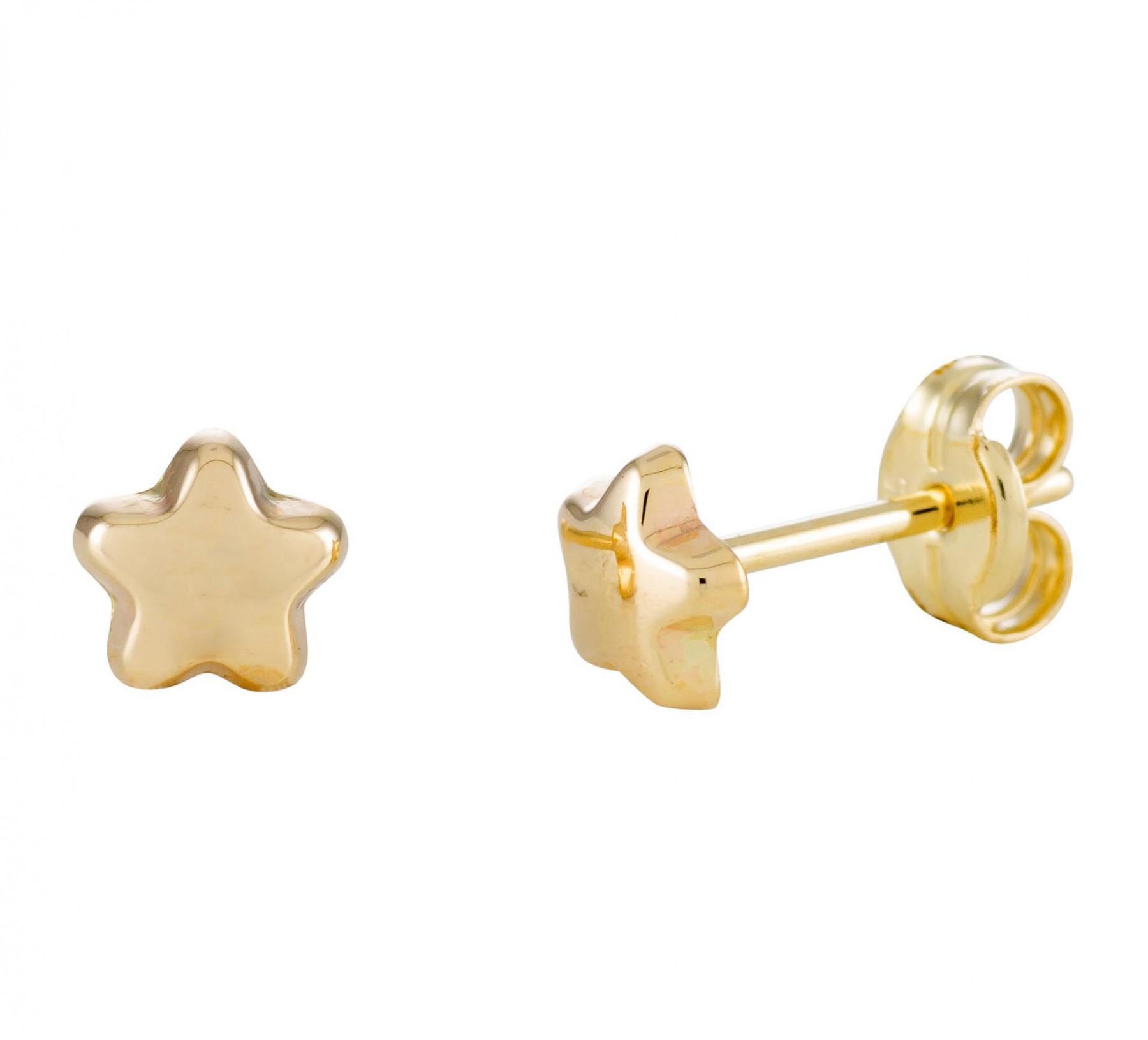Glow Gouden Oorbellen Ster kinderoorbellen 206.0451.00