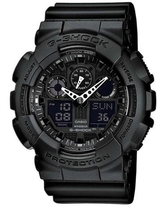 Casio G-Shock Chronograaf Antimagnetisch GA-100-1A1ER