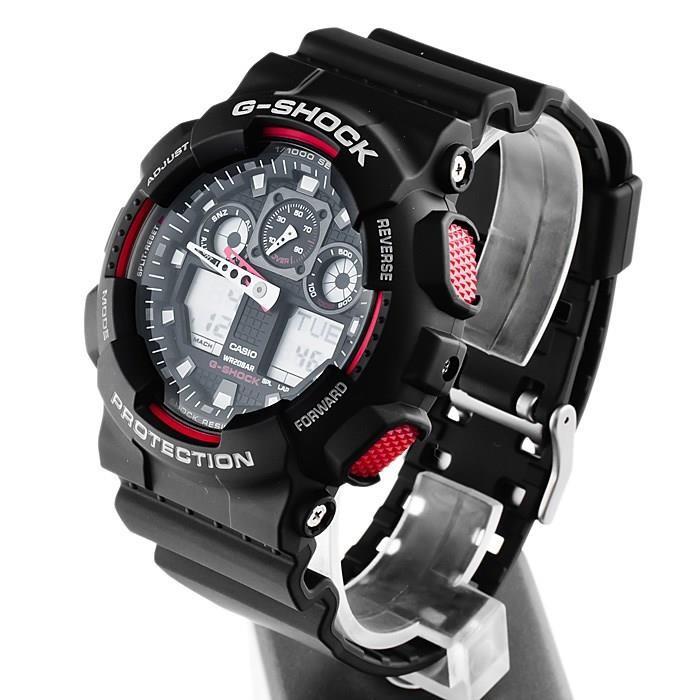 Casio G-Shock Chronograaf Daylight Snelheidsmeter GA-100-1A4ER
