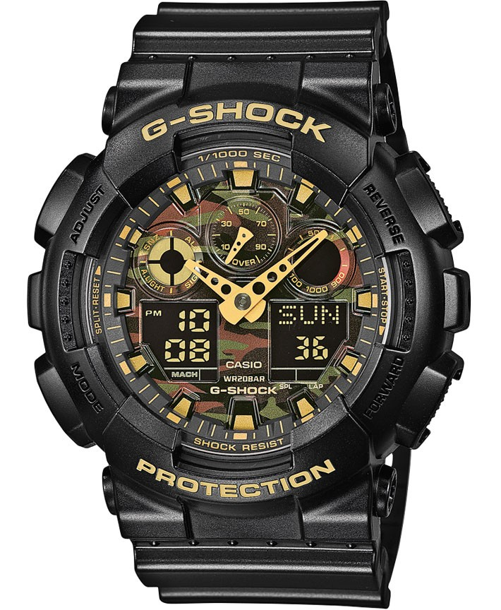 Casio G-Shock Chronograaf Antimagnetisch GA-100CF-1A9ER