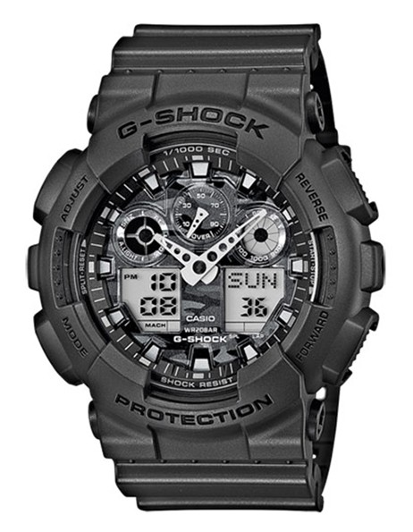 Casio G-Shock Chronograaf Antimagnetisch GA-100CF-8AER