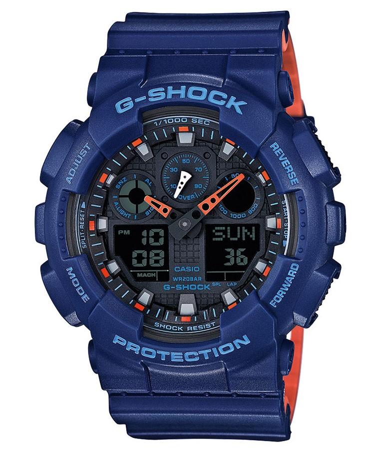 Casio G-shock GA-100L-2AER Horloge antimagnetisch en gemiddelde snelheid