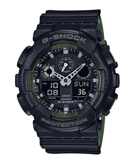 Casio G-Shock GA-100L-1AER Chronograaf, gemiddelde snelheid 52 mm-1