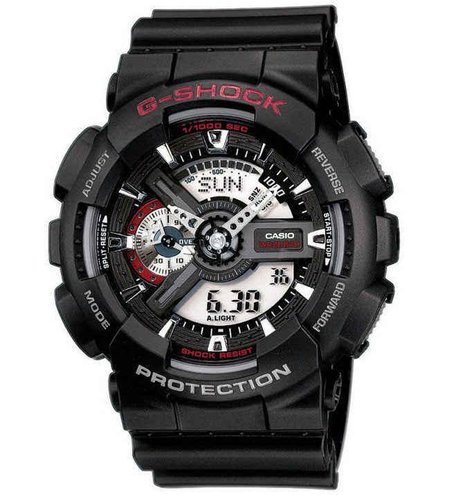 Casio G-Shock Chronograaf Antimagnetisch GA-110-1AER