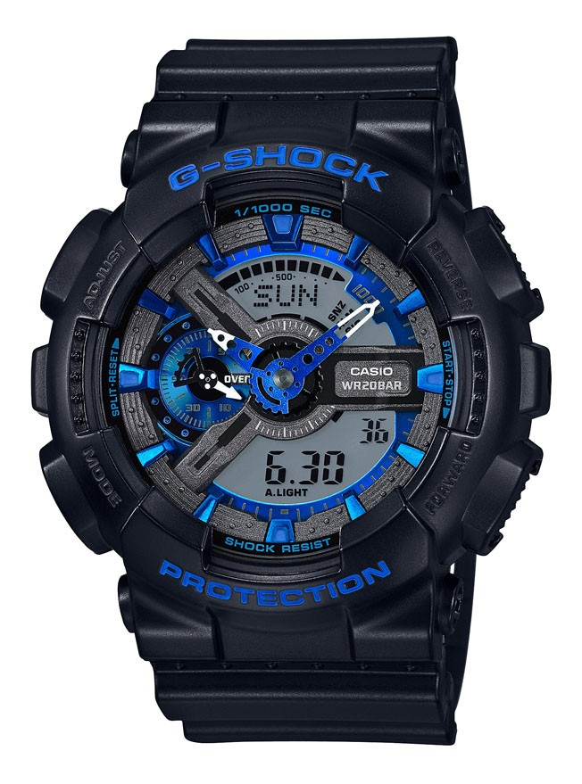 Casio G-shock Blue Antimagnetisch GA-110CB-1AER