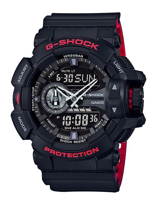 Casio G-shock Chronograaf & Draaiwiel GA-400HR-1AER
