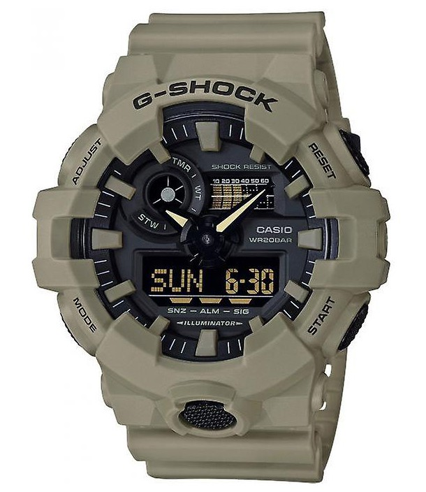 Casio G-Shock Analoog Digitaal Groen GA-700UC-5AER