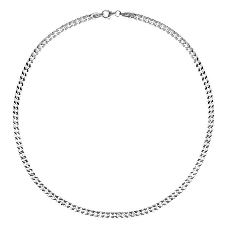 FirstChoice GOU55 Ketting zilver Gourmet 5,5 mm 45,2 gram 50 cm