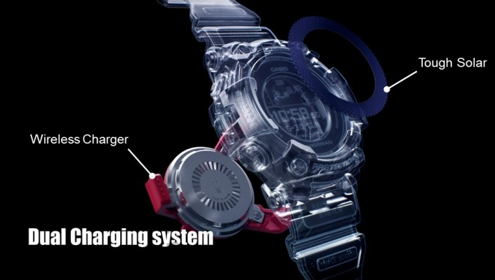 Casio GPR-B1000-1ER Rangeman GPS bluetooth kompas Saffierglas 60,3 mm-1