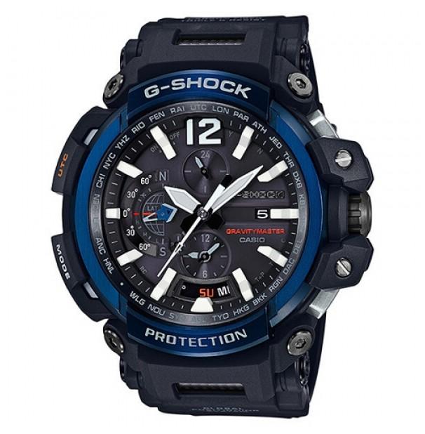 Casio G-Shock Gravitymaster Bluetooth, Zendergestuurd, Solar, GPS GPW-2000-1A2ER