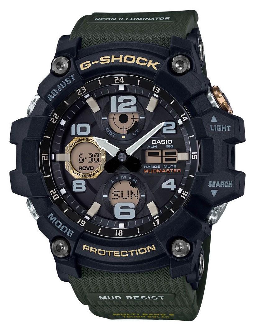 Casio G-Shock Master of G zendergestuurd Solar GWG-100-1A3ER