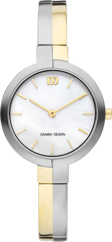 Danish Design IV65Q1149 Dameshorloge titanium bicolor