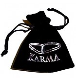 Karma Armband Spiral Grey Crystal XXS 84149