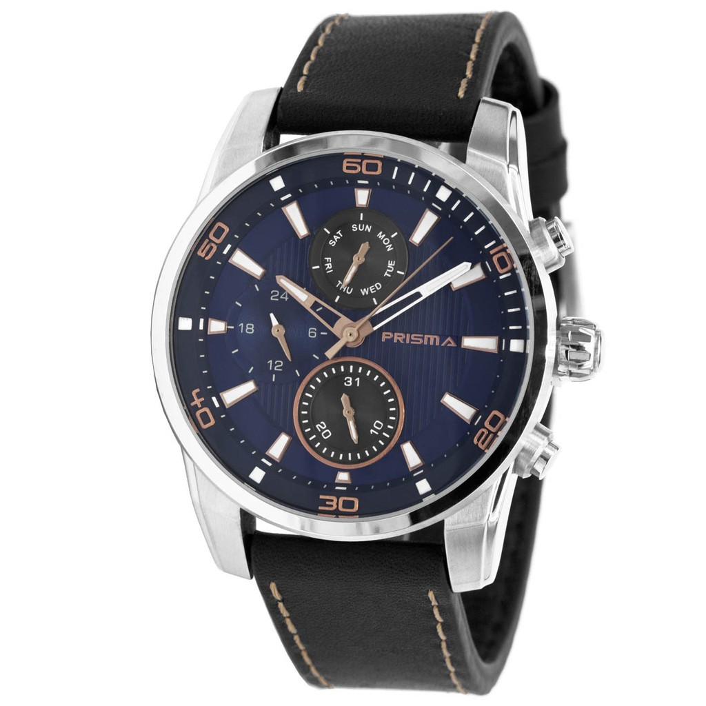 Prisma Herenhorloge 'Traveller Blue Time P.1592