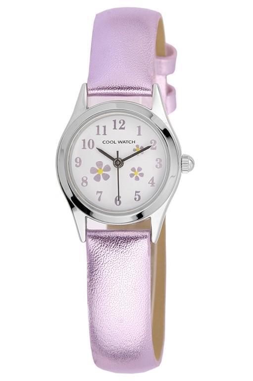 Coolwatch kinderhorloge 'Little Flower' paars CW.153