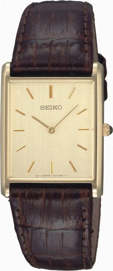 Seiko Herenhorloge Staal-leder SFP606P1