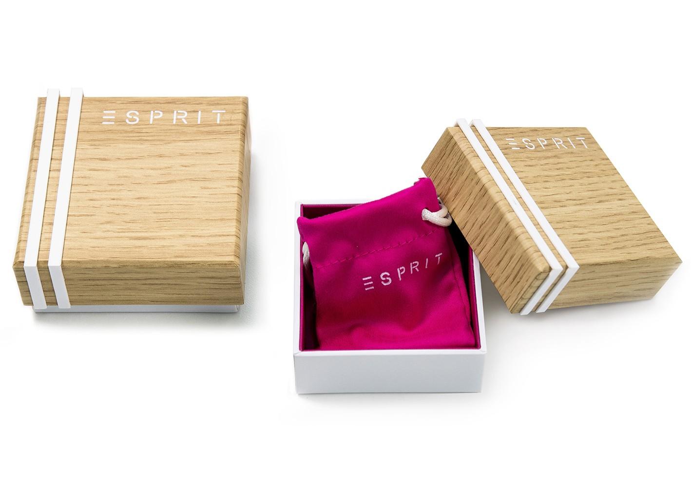 Esprit Ketting Amory zilver goudkleurig 42-45 cm ESNL00231242