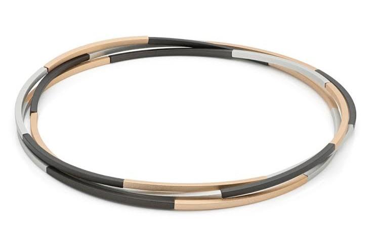 Step by Step Ketting-Armband Aluminium 126 cm 300124