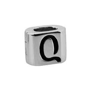 By Q Icicle IC-S-02-HE Stopper zilver (voor 2 kettingen)