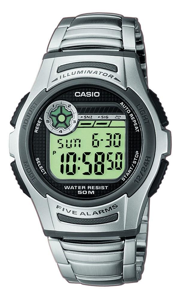 Casio Horloge Illuminator W-213D-1AVES