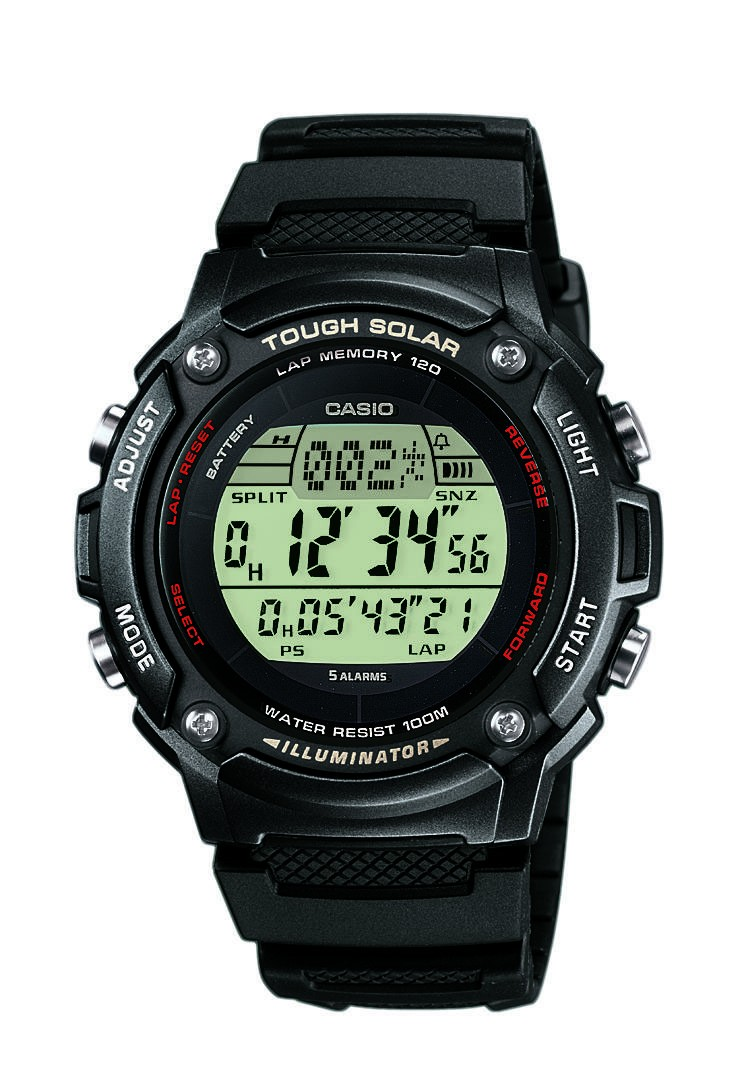 Casio Collection Tough Solar W-S200H-1BVEF