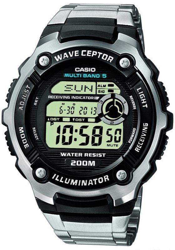 Casio WV-200DE-1AVER Horloge Radiogestuurd Digitaal 47,5 mm
