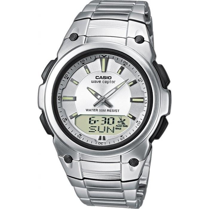 Casio Horloge Zendergestuurd Analoog/Digitaal WVA-109HDE-7AVER