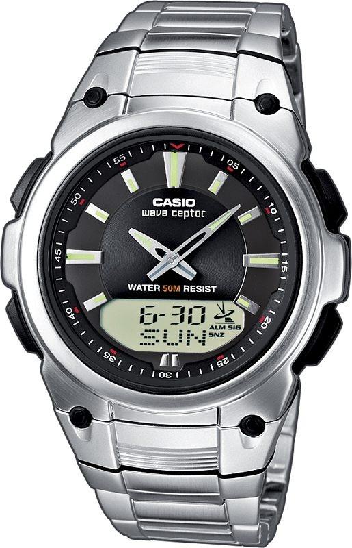 Casio Horloge Zendergestuurd & Analoog/Digitaal WVA-109HDE-1AVER