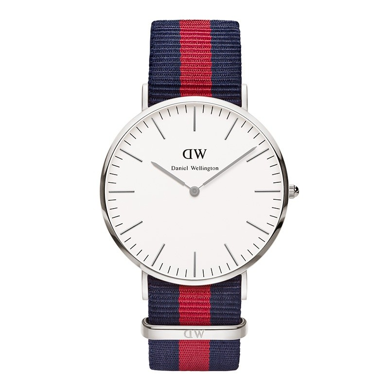 Daniel Wellington Horloge Classic Oxford silver 40 mm DW00100015