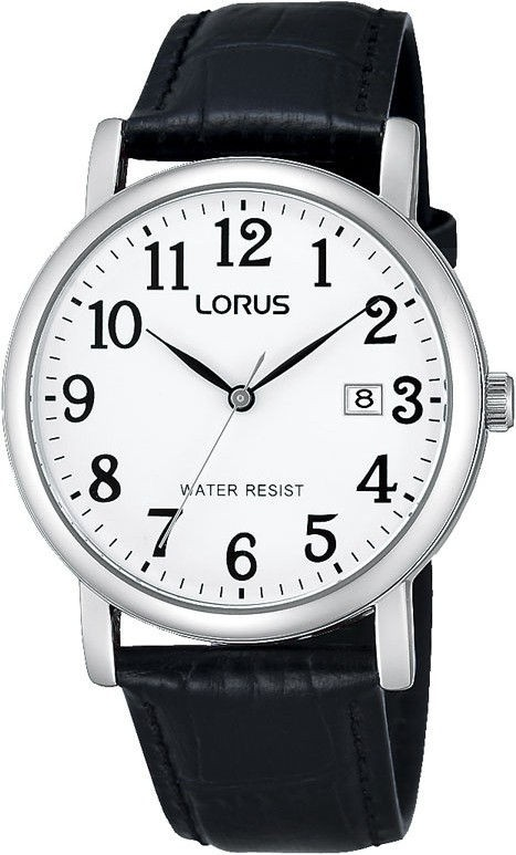 Lorus Herenhorloge Staal-Leder RG835CX9
