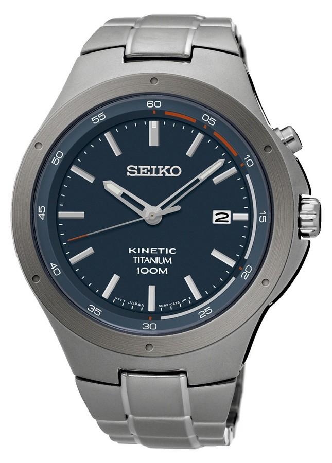 Seiko Herenhorloge Titanium Kinetic SKA711P1