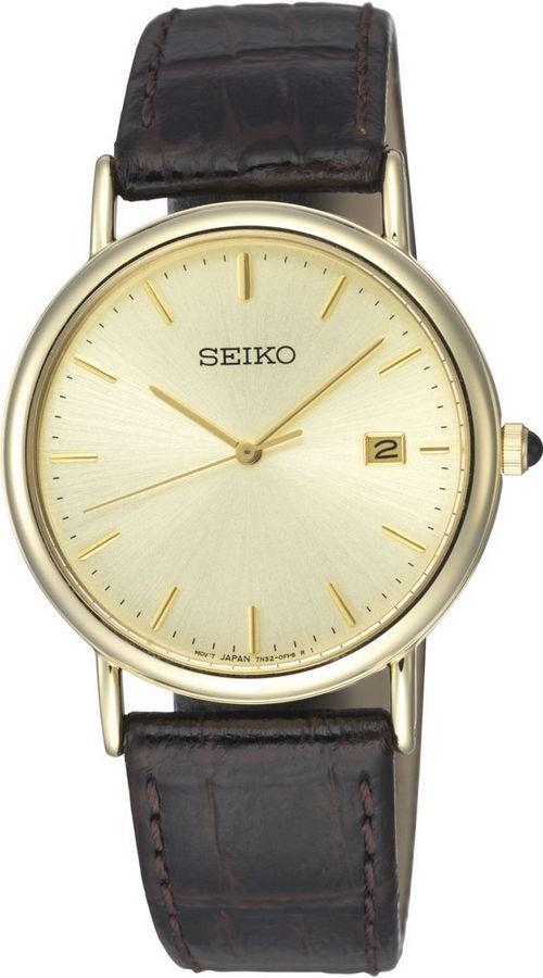 Seiko Herenhorloge Goudkleurig SKK722P1