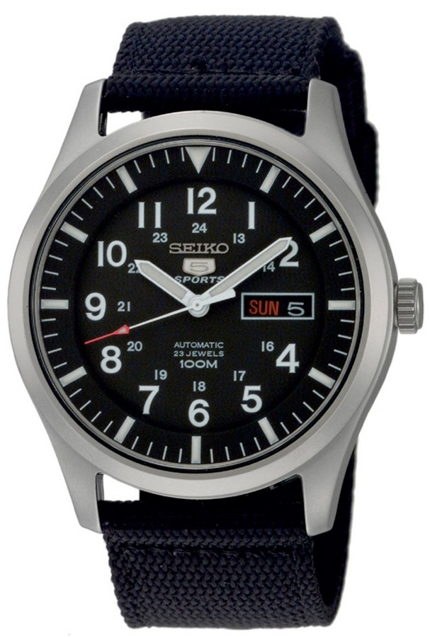 Seiko SNZG15K1 Herenhorloge Automaat Sports 42 mm