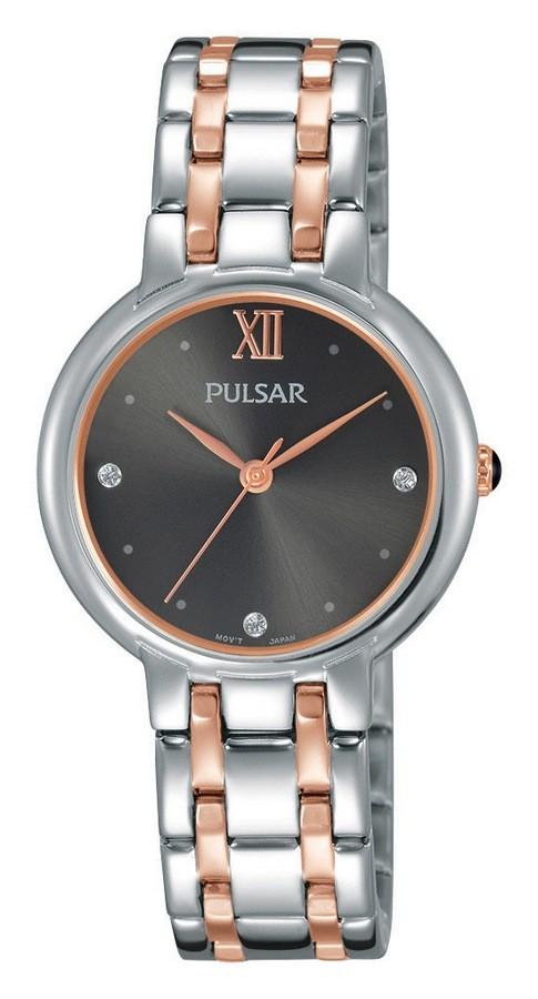 Pulsar Dameshorloge Goud- en zilverkleurig PH8253X1