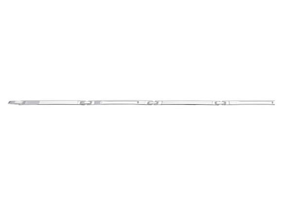 Zilveren Schakelarmband Blokjes 5,0 mm en 20 cm lang 104.3053.20
